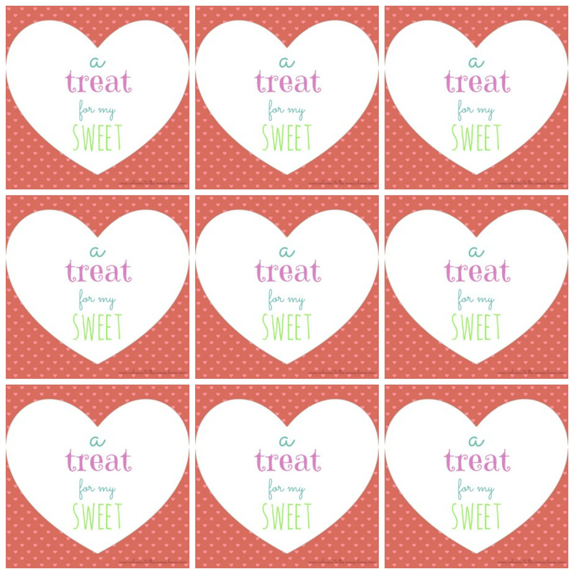 Free Printable Valentine's Day Tags - Free Printable Valentine Tags