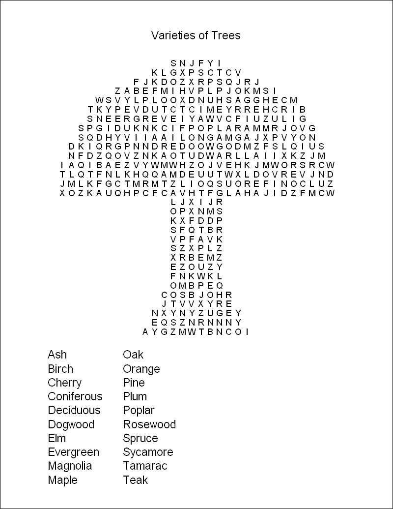 Free Printable Word Search Puzzles | Word Puzzles | Projects To Try - Free Printable Puzzles For Kids