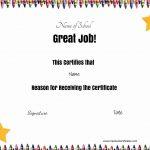 Free School Certificates & Awards   Free Printable Honor Roll Certificates Kids