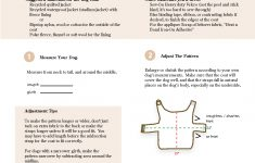 Free Sewing Patterns For Dog Clothes – New Zealand Of Gold Discovery – Free Printable Sewing Patterns For Dog Clothes