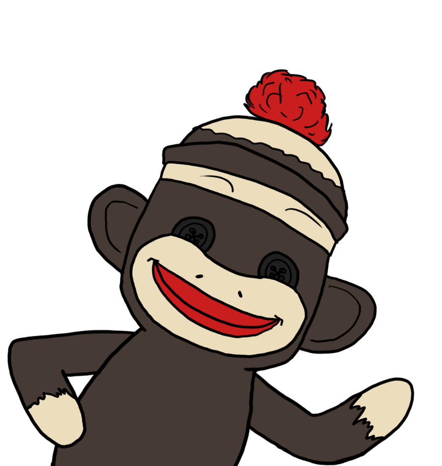 Free Sock Monkey Clip Art |  Art Drawings Animals 2013 - Free Printable Sock Monkey Clip Art