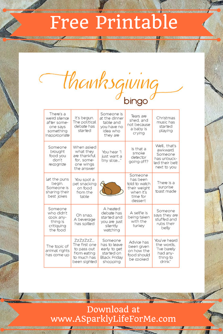 Free Thanksgiving Bingo Game Printable For Adults   Autumn * Fall - Free Printable Thanksgiving Games For Adults