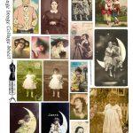 Free Vintage Digital Stamps**: Free Printable   Digital Collage   Free Printable Digital Collage Sheets