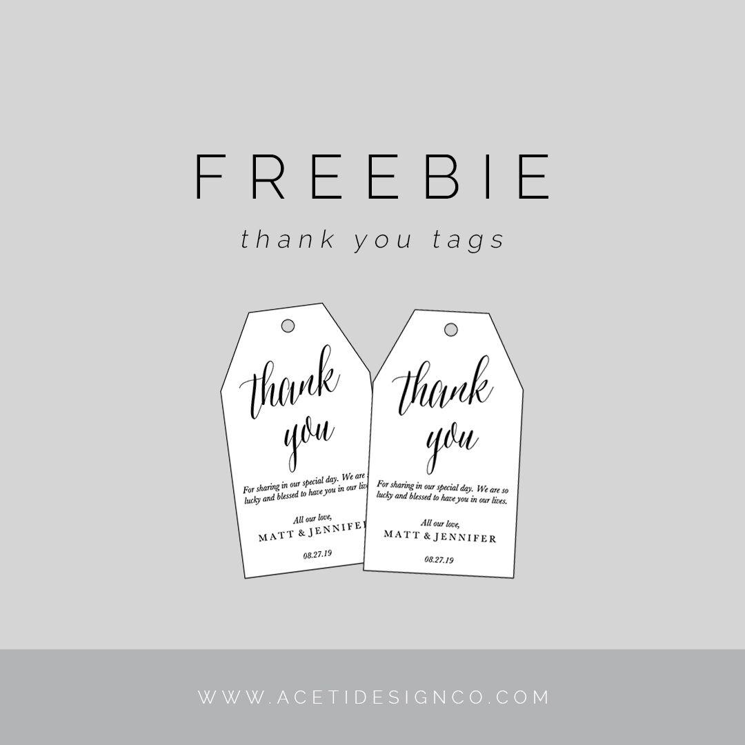Freebie: Editable Thank You Tags   Gift Tags   Free Printable Gift - Thank You For Coming Free Printable Tags