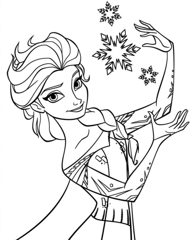 Frozen Coloring Pages | Free Download Best Frozen Coloring Pages On - Free Printable Coloring Pages Disney Frozen