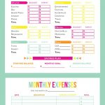 Get Your Finances In Order With These Free Printable Budget Sheets – Free Printable Finance Sheets
