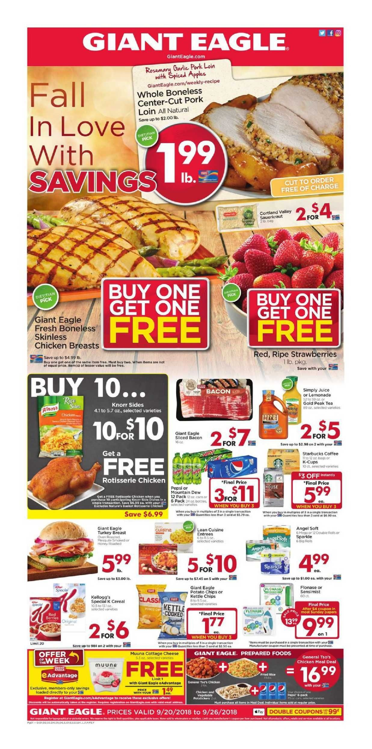 Giant Eagle Weekly Ad Flyer January 17 - 23, 2019 | Weekly Ad - Free Printable Giant Eagle Coupons