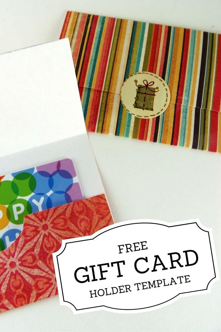 Gift Card Holder Templates   Christmas   Printable Gift Cards - Free Printable Christmas Money Holder Cards