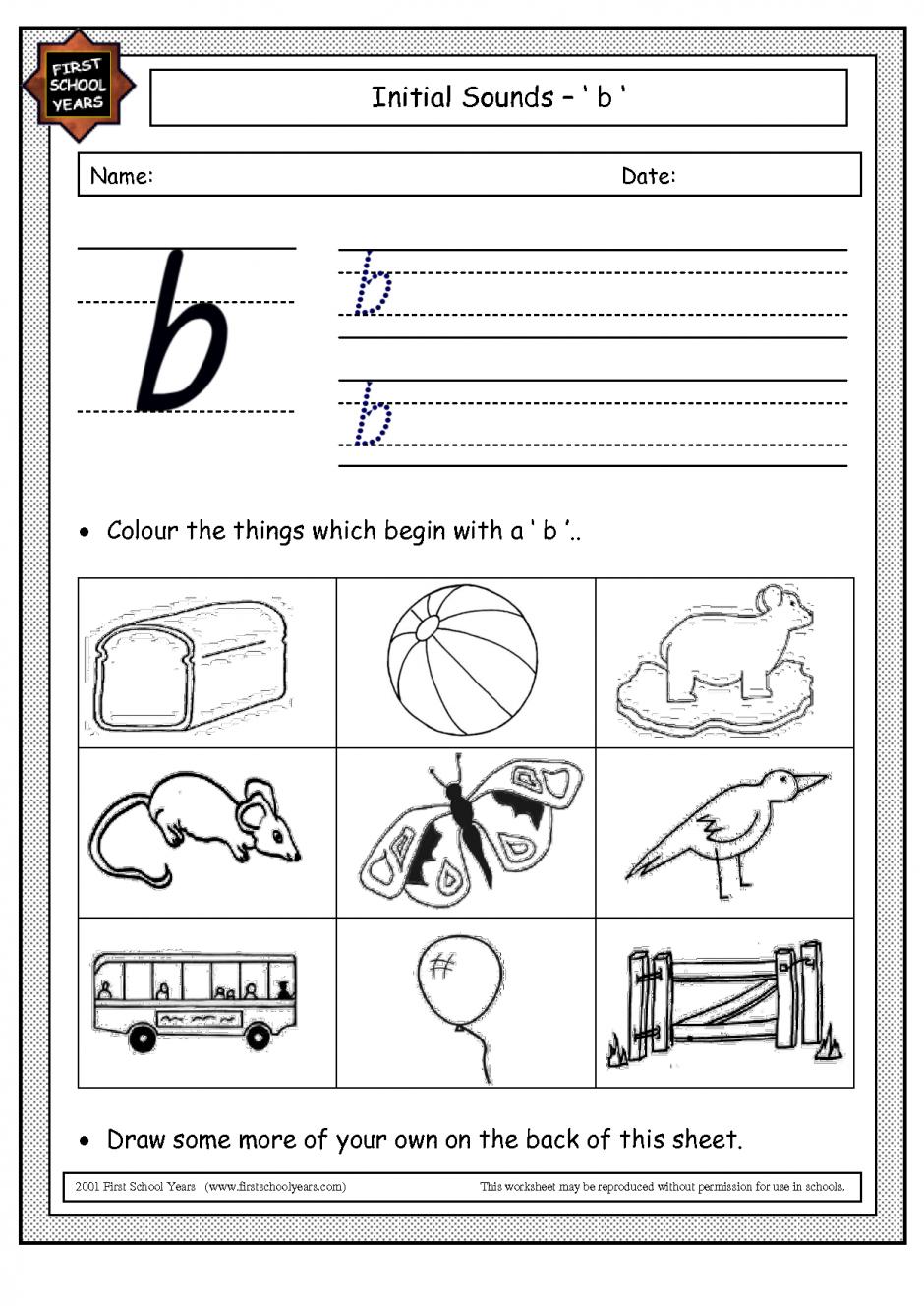 Glancely Free Worksheets For Kids Printables - Jolly Phonics Worksheets Free Printable