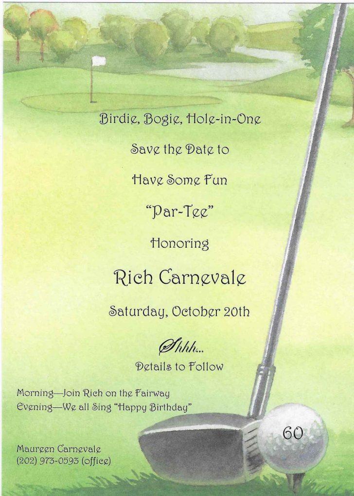 Free Printable Golf Stationary