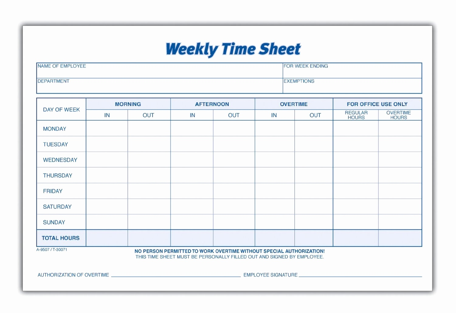 Group Timesheet Template For 8 Best Of Blank Printable Timesheets - Free Printable Time Sheets Forms
