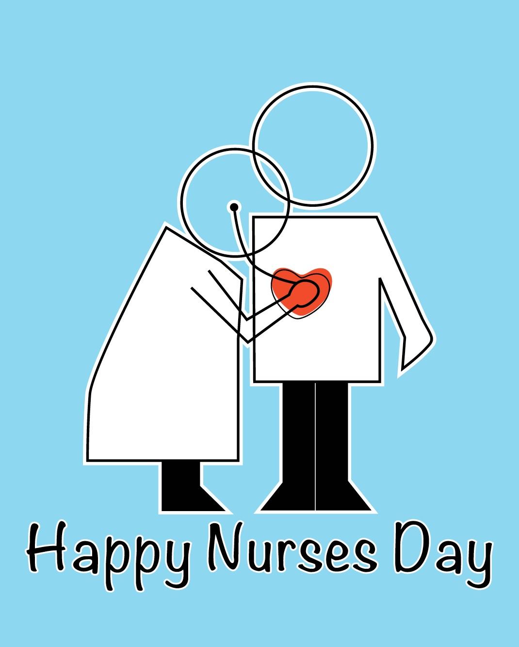 Happy Nurses Day | Pugsleyprints - Nurses Day Cards Free Printable