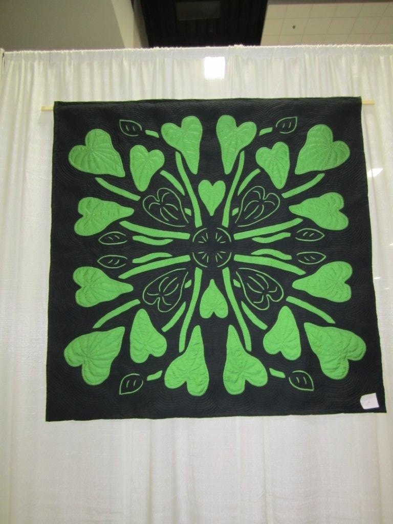 Hawaiian Quilting With Poakalani & Co. -  And Exploring The Art - Free Printable Hawaiian Quilt Patterns