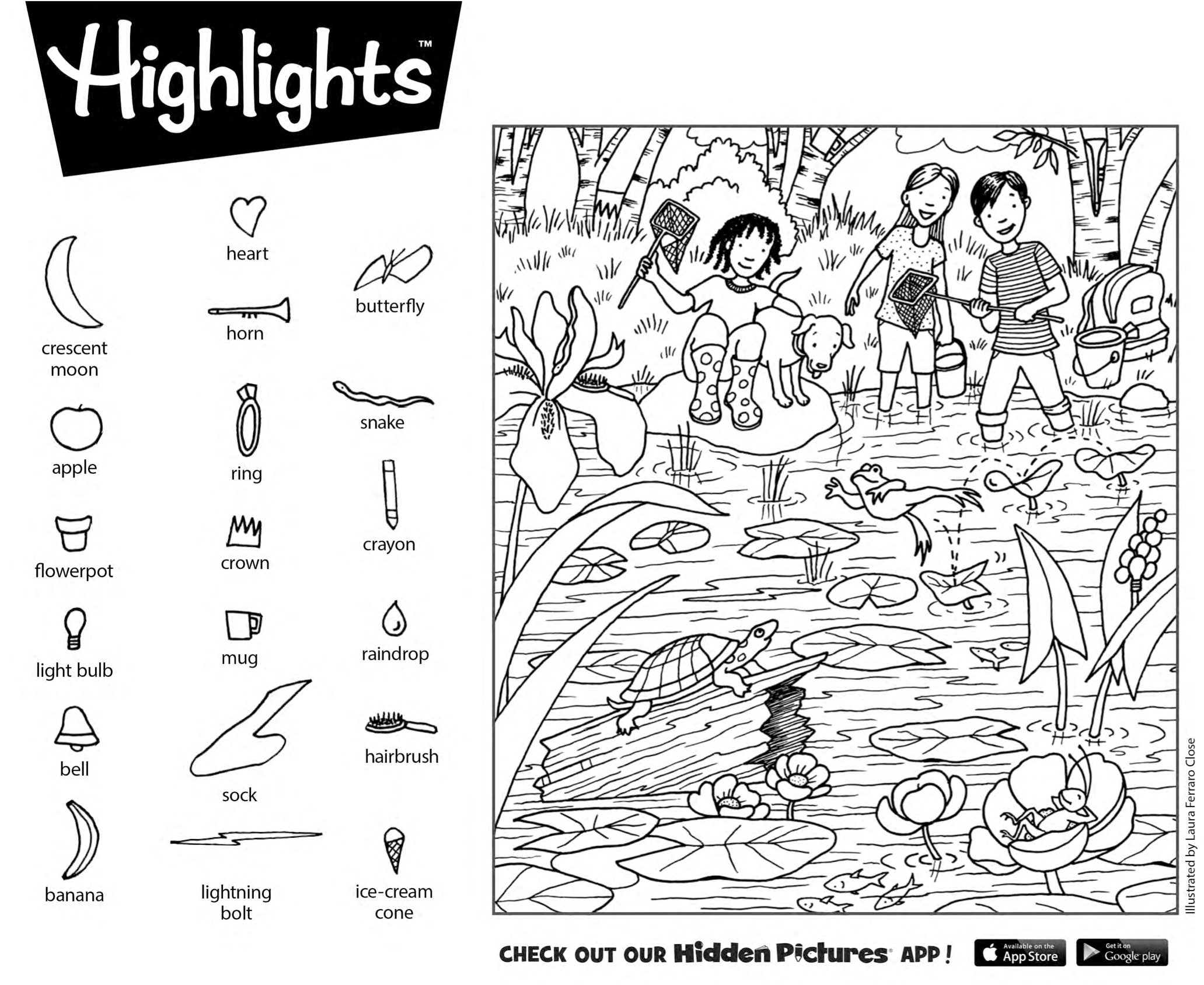 Hidden Pictures Printables Download This Free Printable Puzzle From - Free Printable Highlights Hidden Pictures