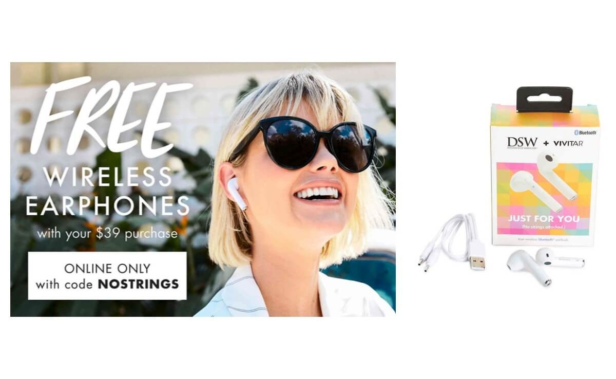 Hot! Free Wireless Headphones With Any $39 Purchase At Dsw!  Living - Free Printable Coupons For Dsw Shoes