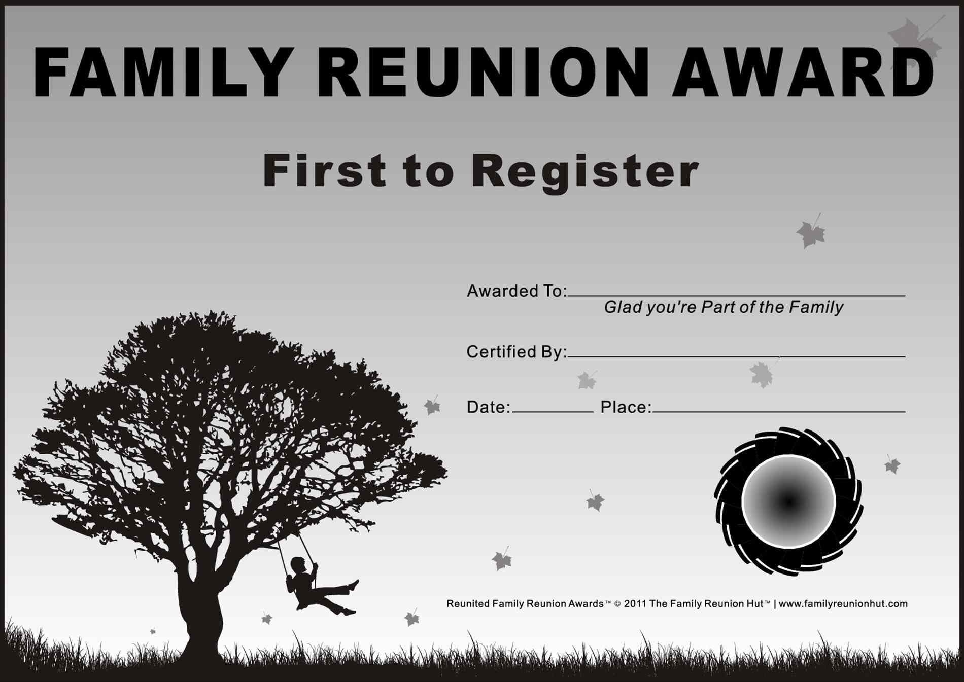 Ideas For Certificates Kids At Prayer Is A Free Certificates Family - Free Printable Family Reunion Awards