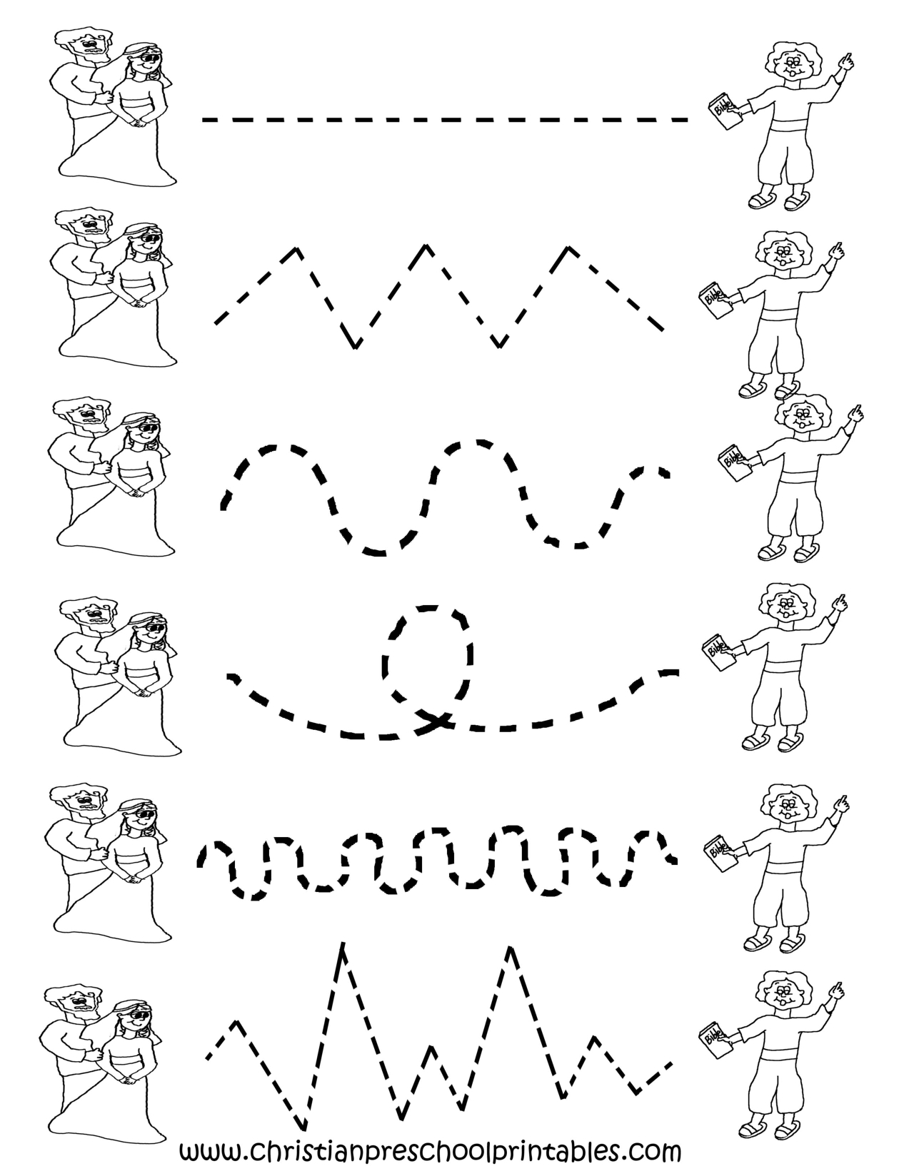Image Detail For -Preschool Tracing Worksheets   Preschool Ideas - Free Printable Preschool Worksheets Tracing Lines