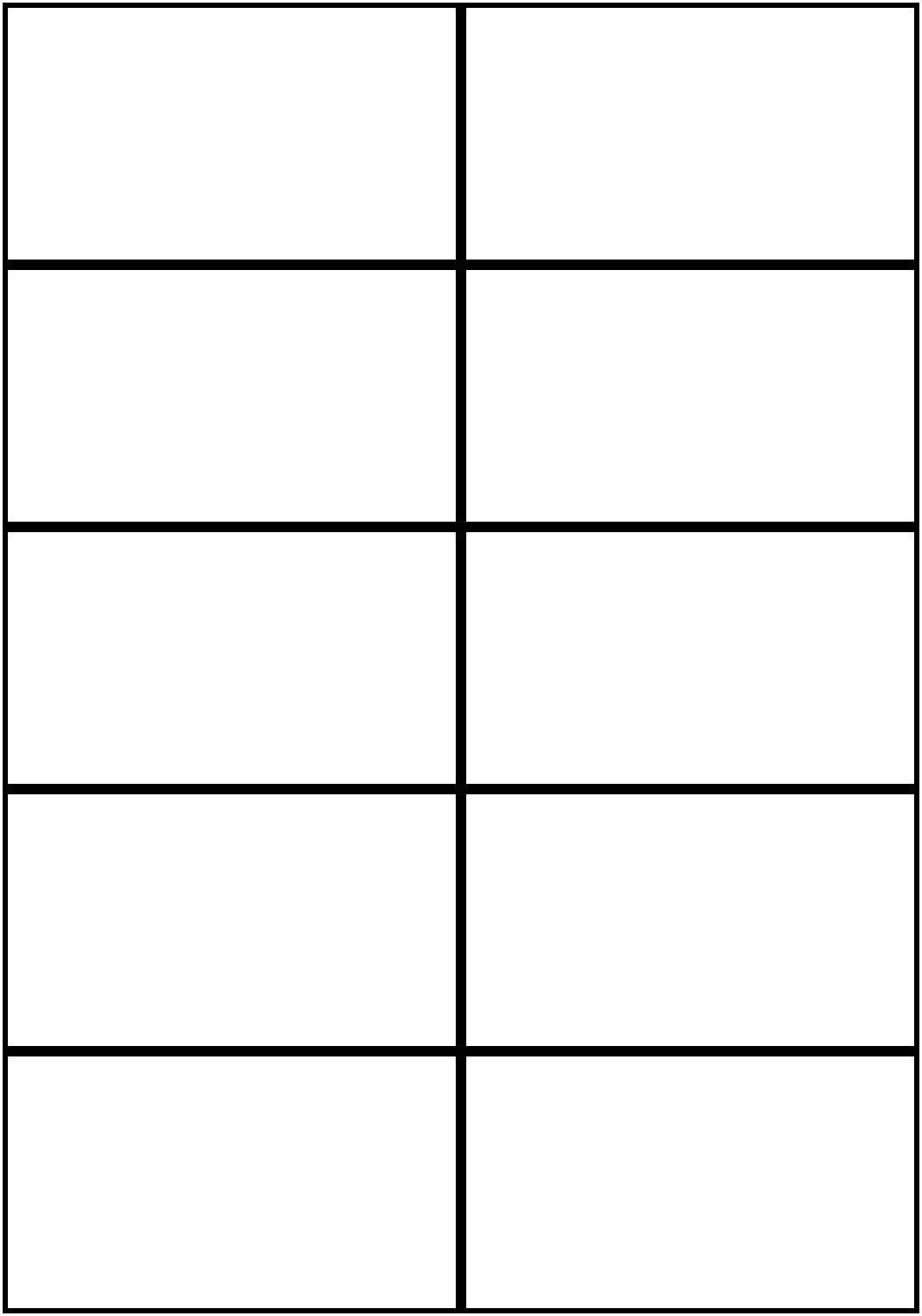 Image Result For Flashcards Template Word | Worksheets | Free - Free Printable Card Templates