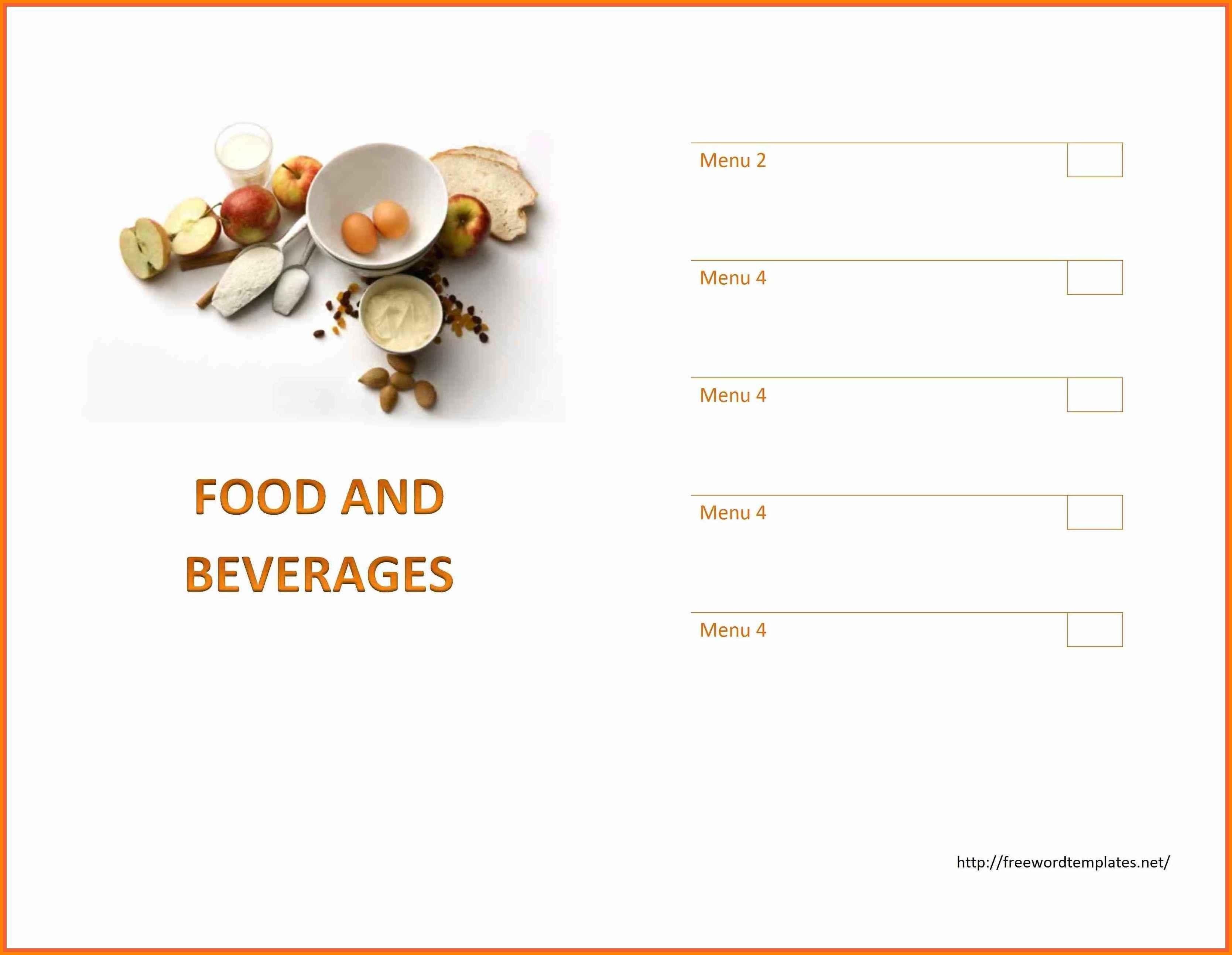 Inspirational Select Dinner Menu Template | Www.pantry-Magic - Free Printable Menu Templates Word
