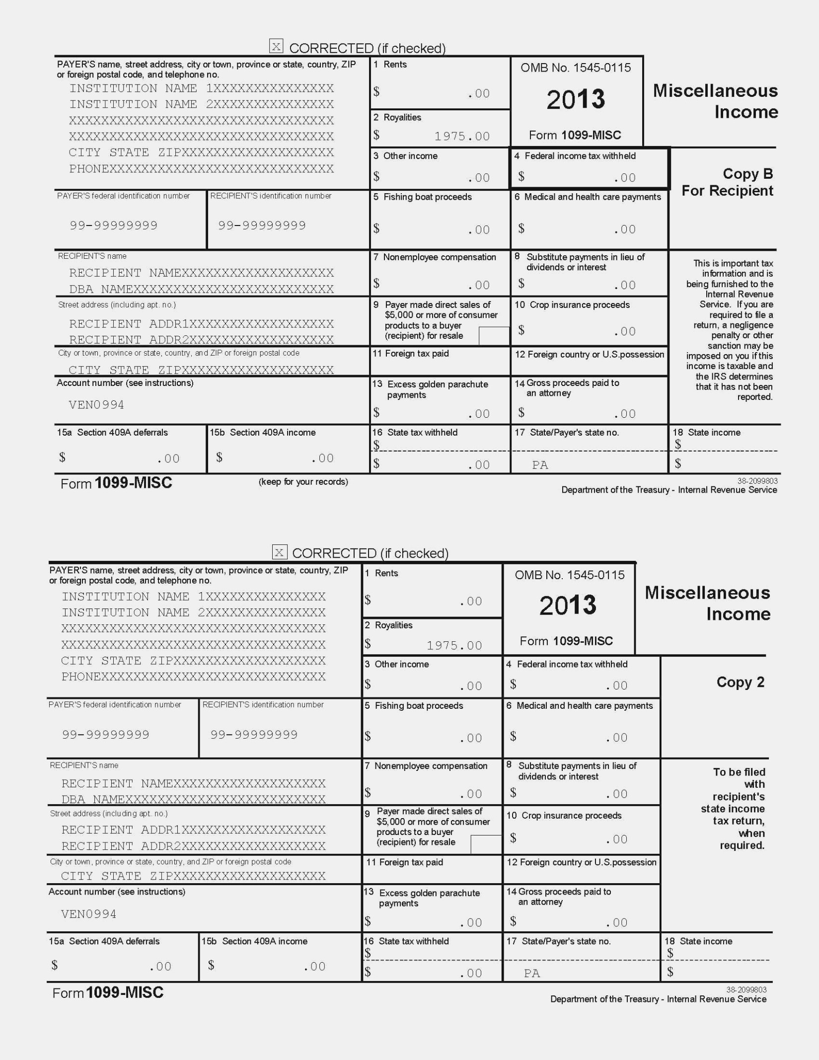 Irs Form 11 11 Gallery – Free Form Design Examples – Printable 1099 - Free 1099 Form 2013 Printable