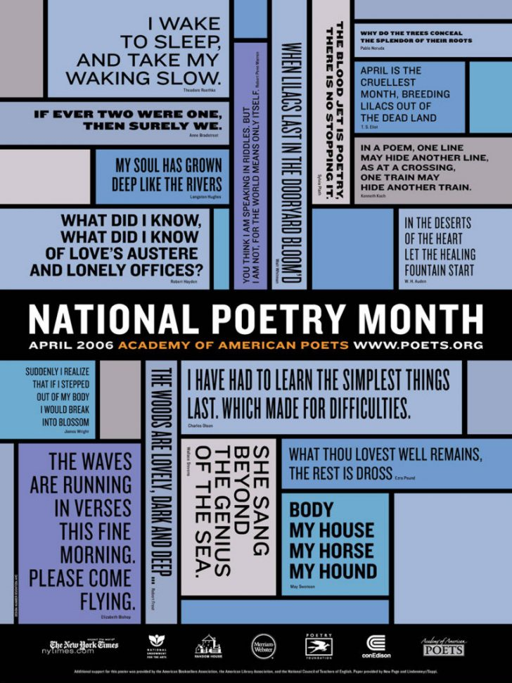 Free Printable Poetry Posters