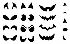 Jack-O'-Lantern Shirt Stencils | Craft Buds – Jack O Lantern Patterns Free Printable