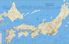 Japan Tourist Map – Free Printable Map Of Japan