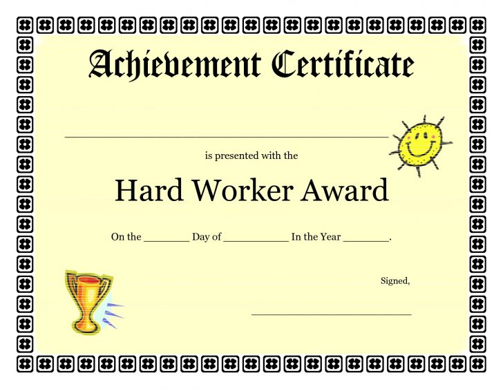 Free Printable Swimming Certificates For Kids