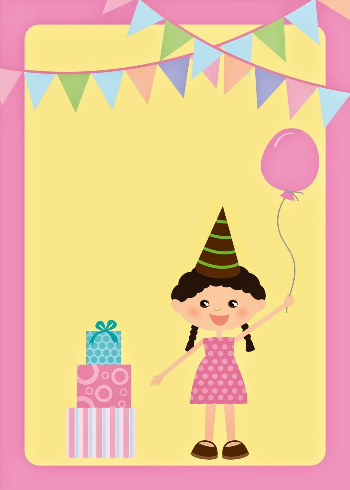 Kids Birthday Party Free Printable Invitations. - Oh My Fiesta! In - Free Printable Kids Birthday Cards Boys