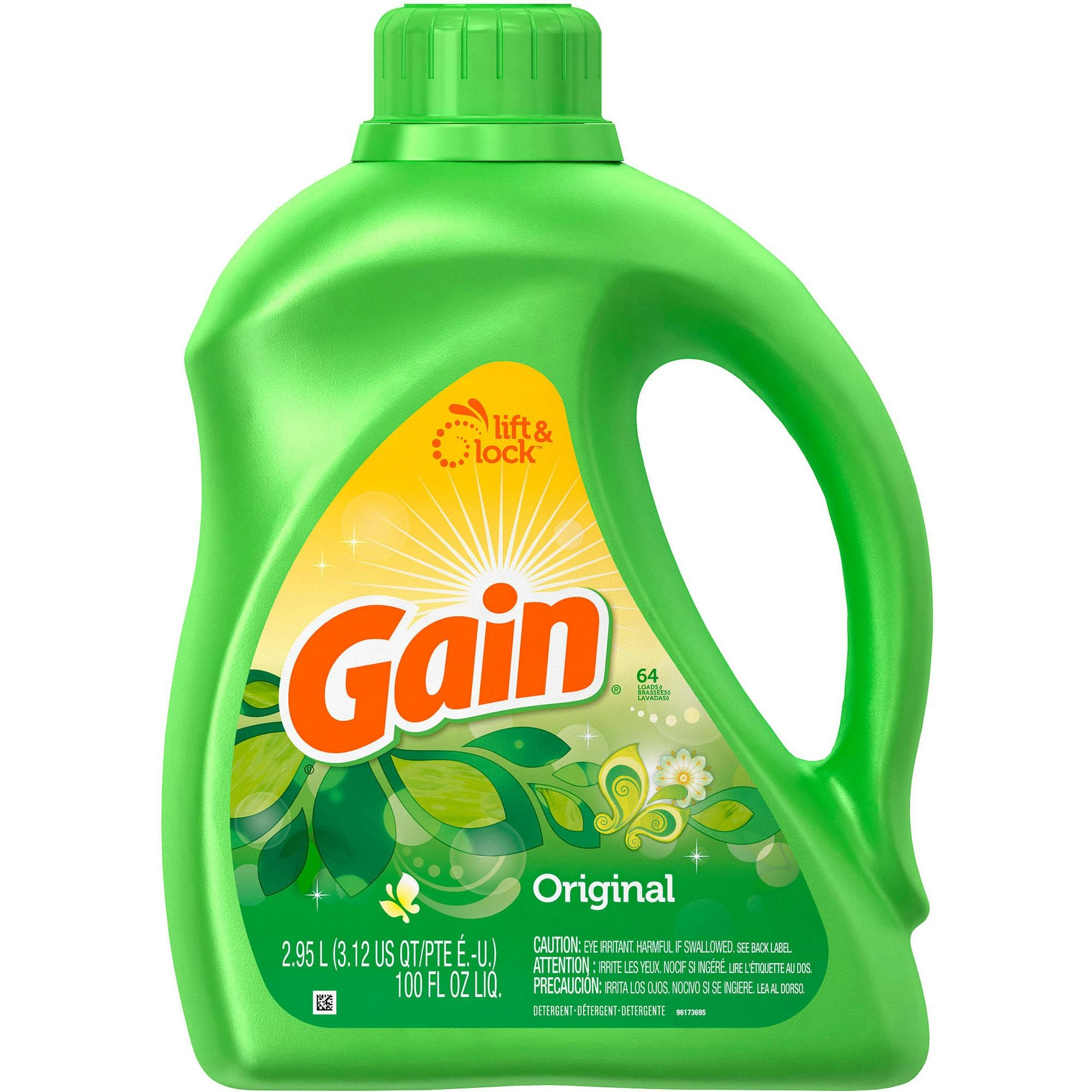 Kroger: $1.99 Gain Laundry Detergent And Fabric Softener! - Free Printable Gain Laundry Detergent Coupons