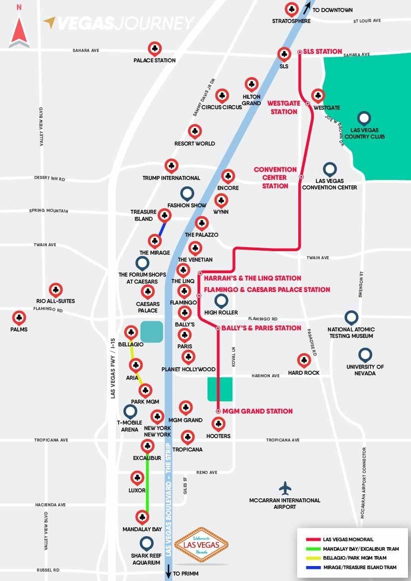 Las Vegas Monorail & Tram Map   Vegas Vacation In 2019   Las Vegas - Free Printable Las Vegas Coupons 2014