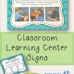 Learning Center Signs | Taisha Favorite | Preschool Center Signs – Free Printable Learning Center Signs