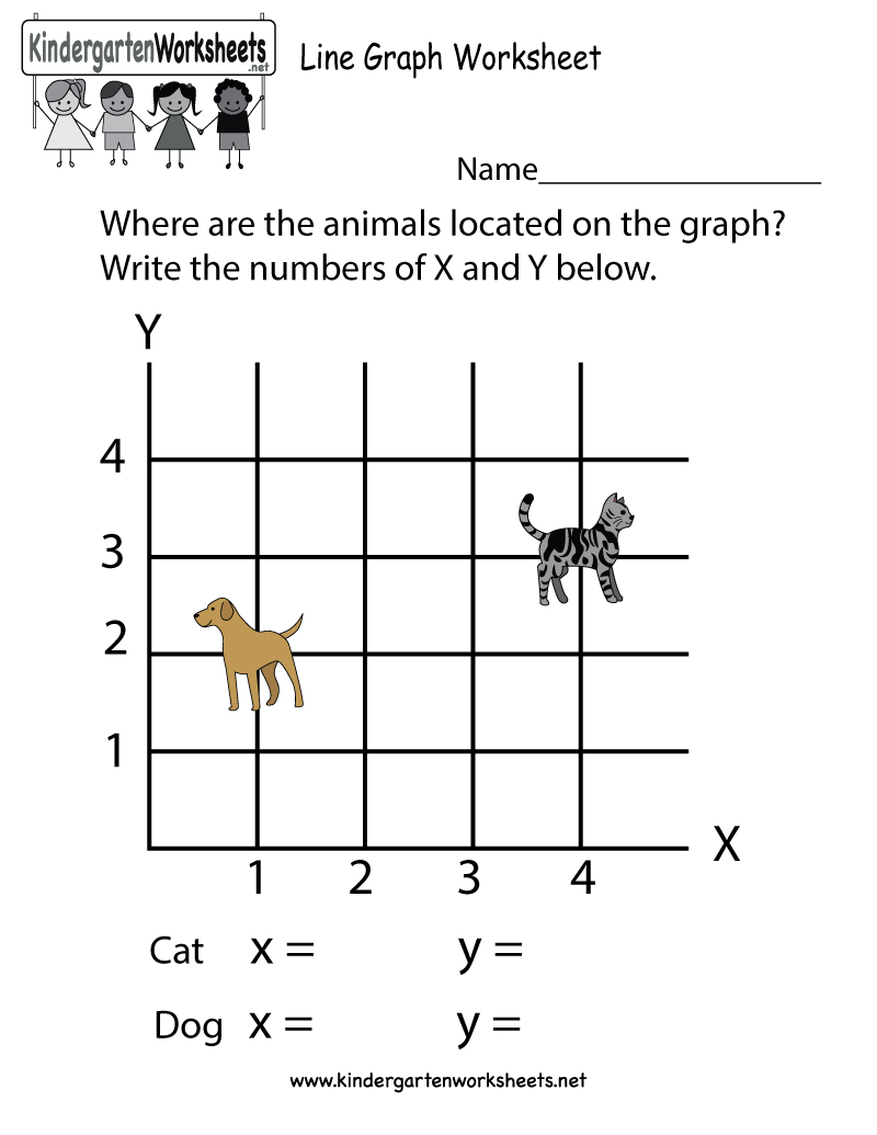 Line Graph Worksheet - Free Kindergarten Math Worksheet For Kids - Free Printable Graphs For Kindergarten