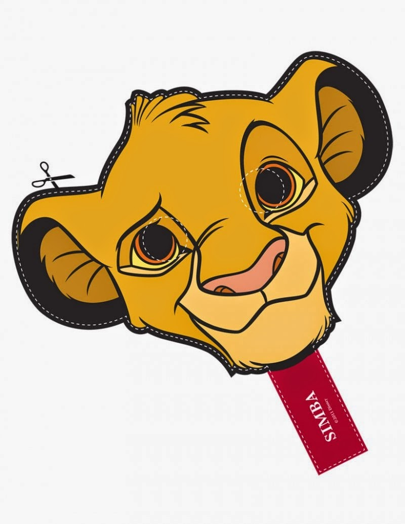 Lion Mask Clipart   Free Download Best Lion Mask Clipart On - Free Printable Lion Mask