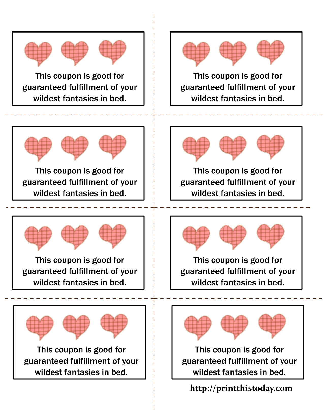Love Coupon Template Microsoft Word   Examples And Forms - Free Sample Coupons Printable