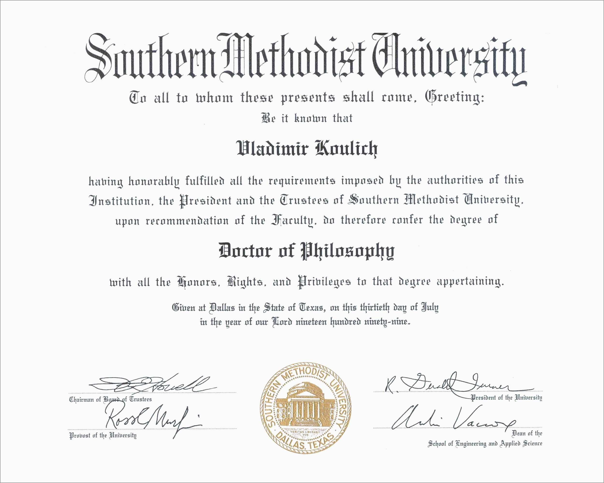 Luxury Free High School Diploma Templates | Best Of Template - Free Printable High School Diploma Templates