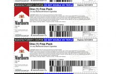 Marlboro Coupons Printable 2013 | Is Using A Possibly Fake Coupon – Free Pack Of Cigarettes Printable Coupon