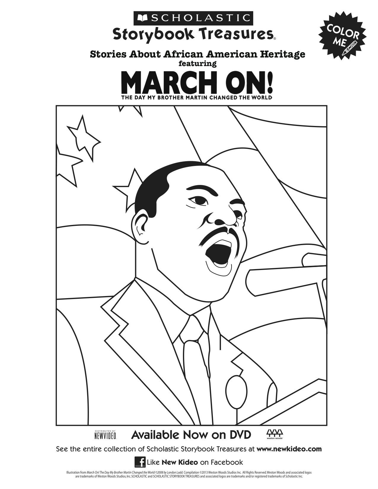 Martin Luther King Free Printable Coloring Pages | Free ...