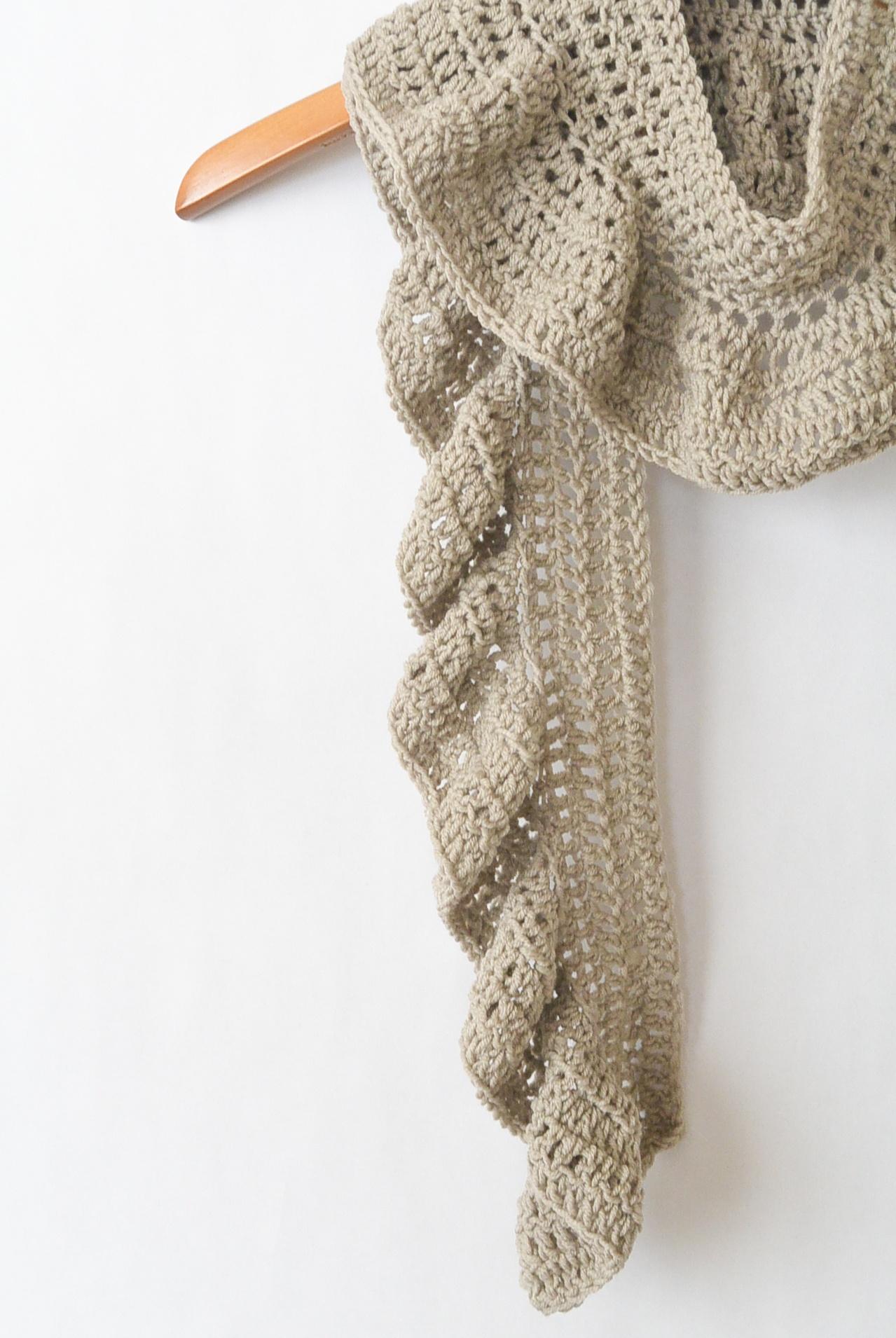 Merino Crocheted Ruffle Scarf Pattern – Mama In A Stitch - Free Printable Crochet Scarf Patterns