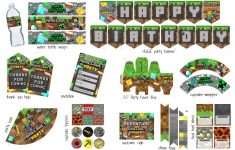 Minecraft Party Pack – Clean Eating With Kids – Free Printable Minecraft Cupcake Toppers And Wrappers