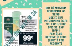 Mitchum Deodorant Just $0.99 @ Cvs! Week Of 10/8-10/14 | Couponing – Free Printable Coupons For Mitchum Deodorant