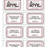 Mommyday Crafternight: {Free Printable} Valentine Coupon - Free Printable Coupon Book For Boyfriend