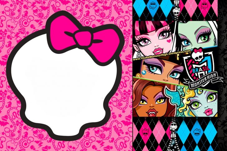 Monster High Cupcake Toppers Printable Free