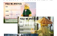 Musings Of An Average Mom: September 2017 – Lego Ninjago Party Invitations Printable Free