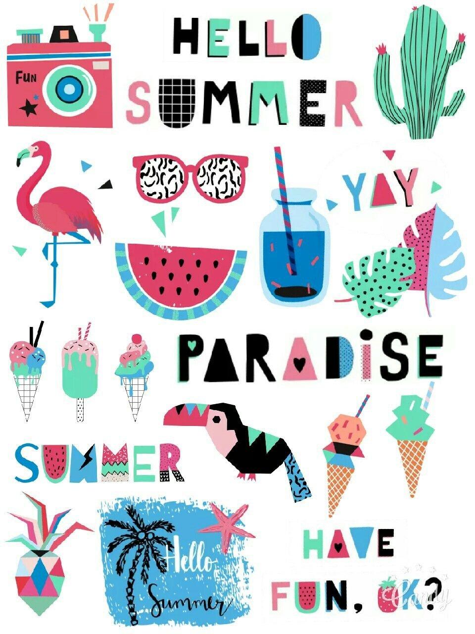 My Paradise Free Stickers Printable…   Printable Stickers - Free Printable Scrapbook Stuff