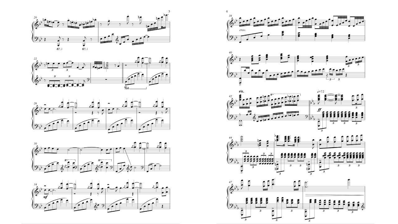New] Bohemian Rhapsody Sheet Music - Youtube - Free Printable Music Sheets Pdf