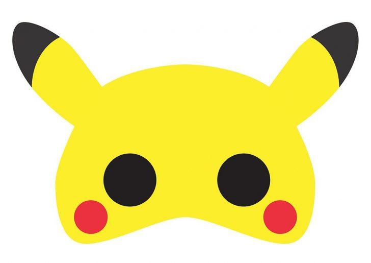 Free Printable Pokemon Masks