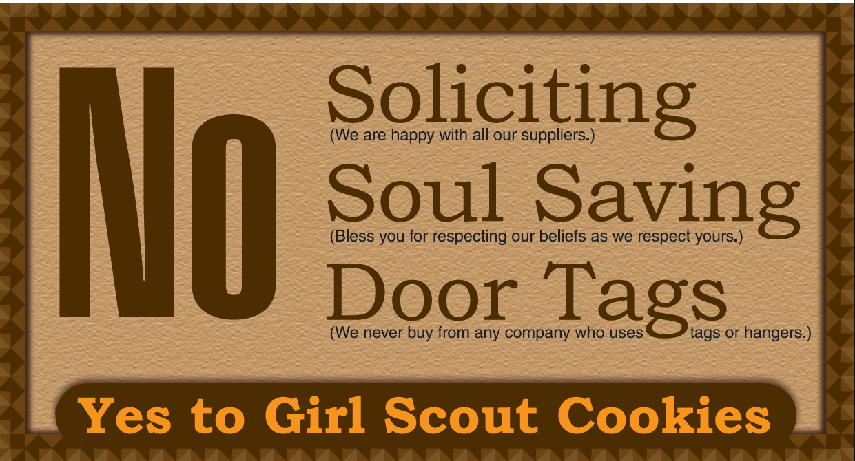 No Soliciting Door Sign Free Printable | Free Printable Labels - Free Printable No Soliciting Sign