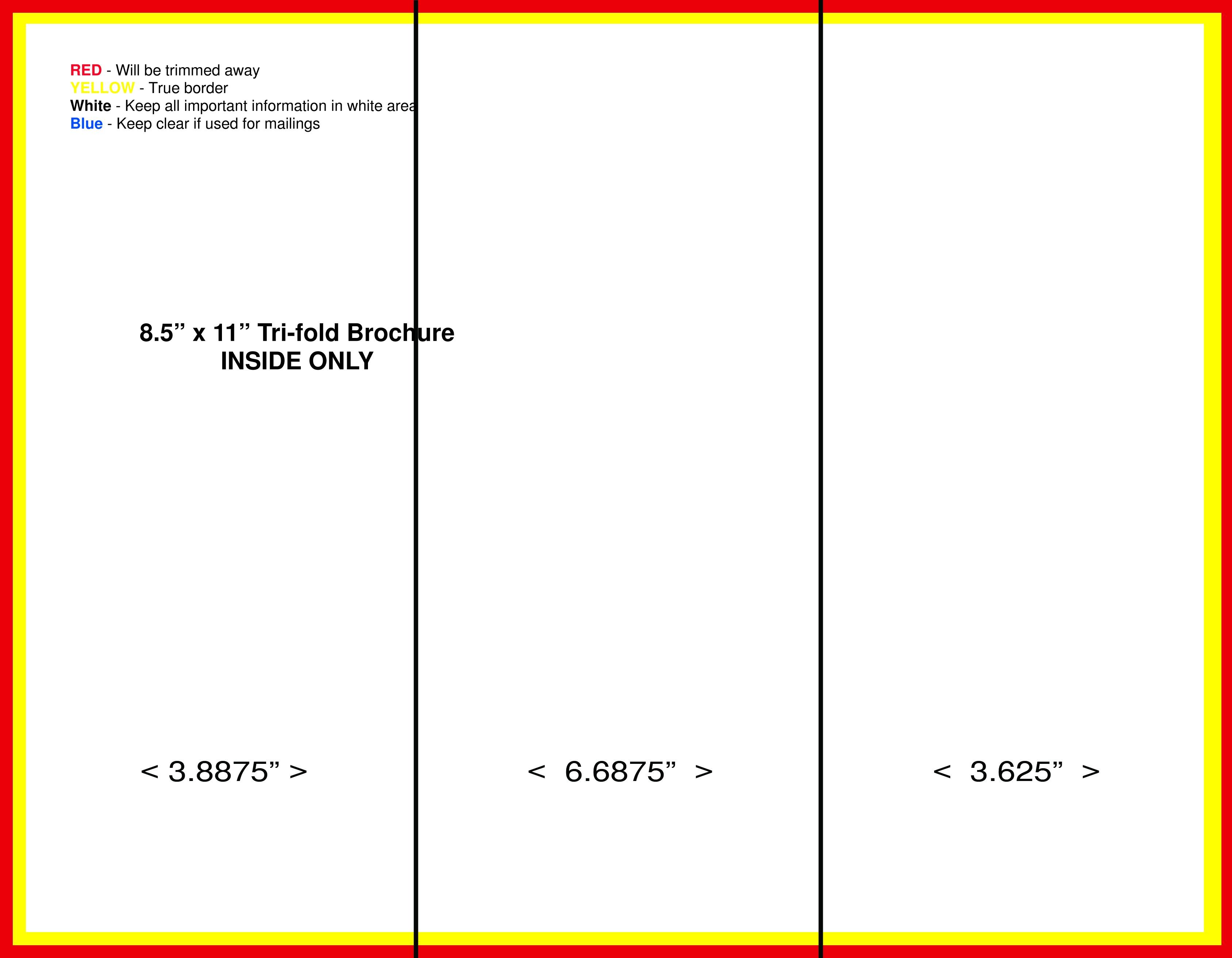 Pamphlet Templates Free - Kaza.psstech.co - Free Printable Brochure Templates