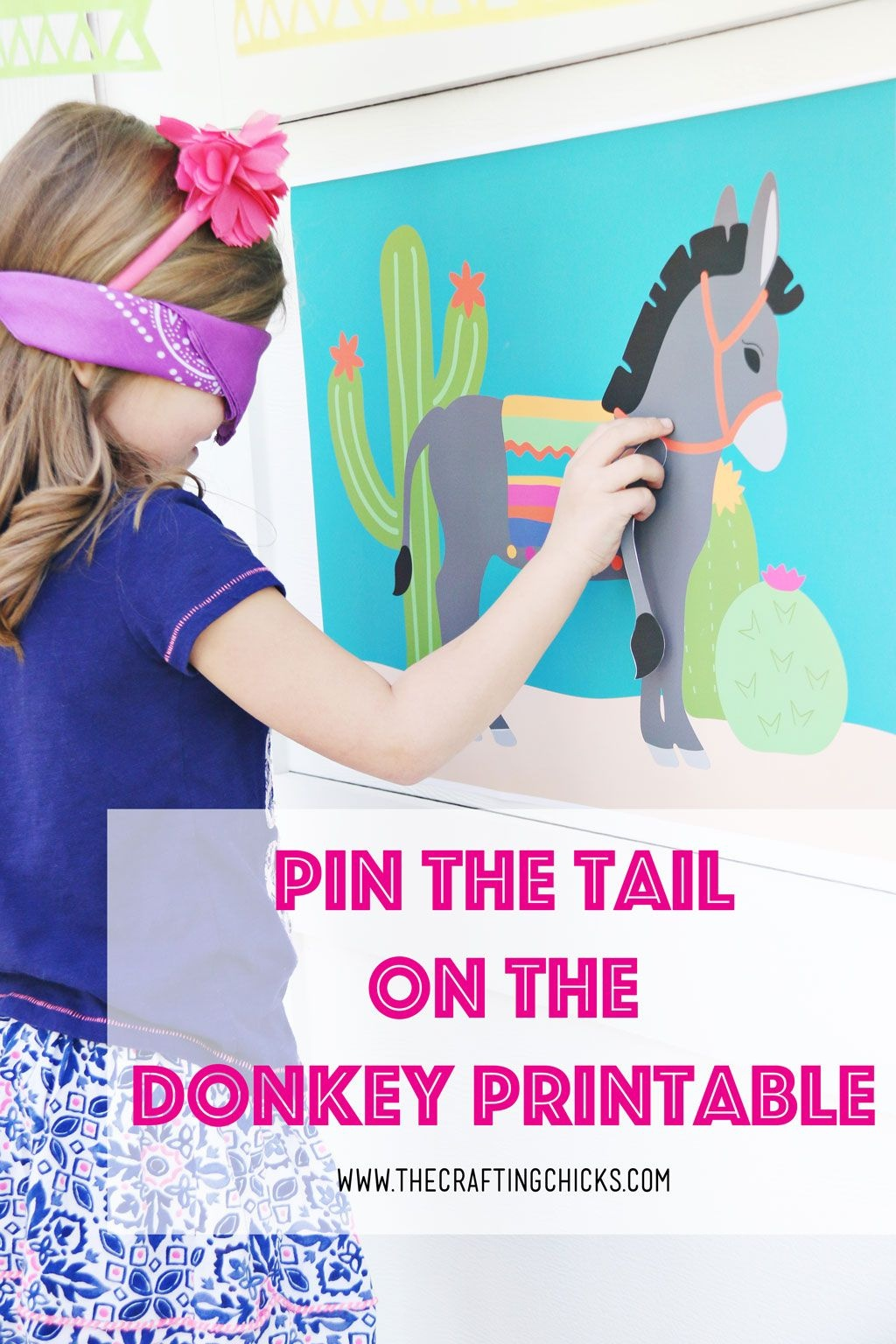 Pin The Tail On The Donkey   All Time Favorite Printables   Kids - Pin The Tail On The Donkey Printable Free